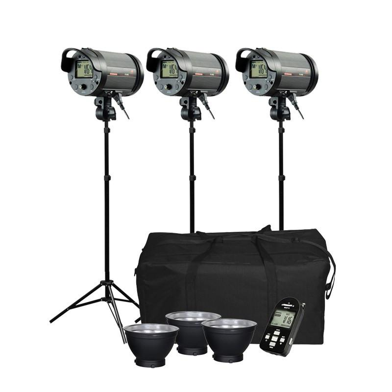 Cononmark 900W 3G 2.4GHz Studio Flash Strobe Light Kit (Bowens)
