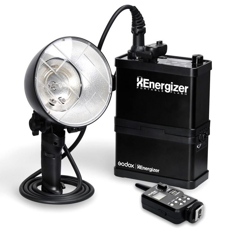 Godox XEnergizer ES400P 400W Portable Flash Strobe Light with Battery Pack