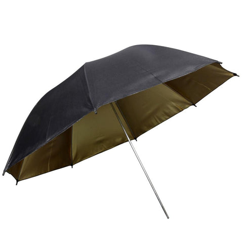 Hypop Large Black Gold Reflective Umbrella (36