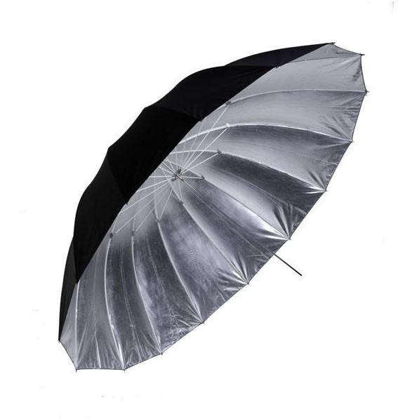 "WI: 1 x Large Professional 60"" Black/Silver Umbrella"