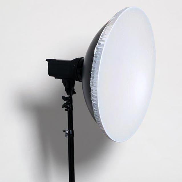 "Hypop 16.5""/42CM Universal White Reflector Beauty Dish With Diffuser for Flash Strobes"