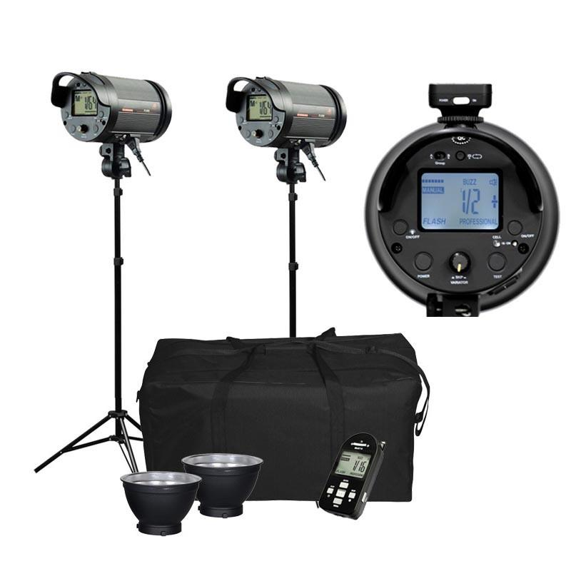 Cononmark 600W Complete Flash Strobe Lighting Kit (Bowens Mount)
