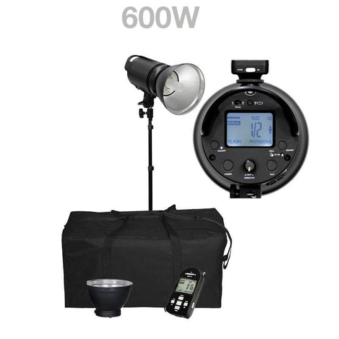 Cononmark 1200W HSS Flash Strobe Lighting Kit with Bowens Mount