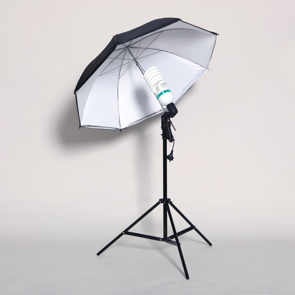 Hypop 250W Double Umbrella Continuous Lighting Kit