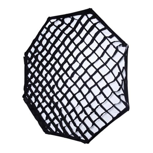 "NiceFoto 120cm / 48"" Collapsible Octagon Softbox with Honeycomb Grid"