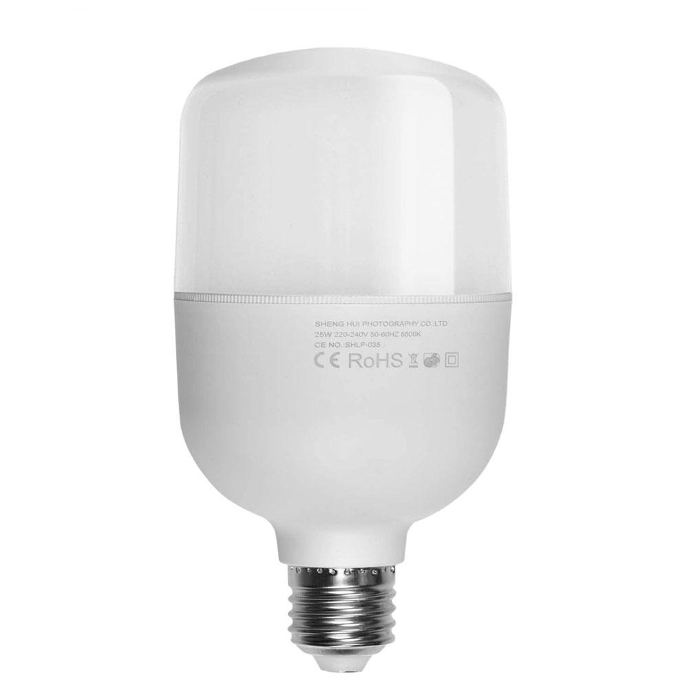 20W Single E27 LED Studio Light Bulb 5500K