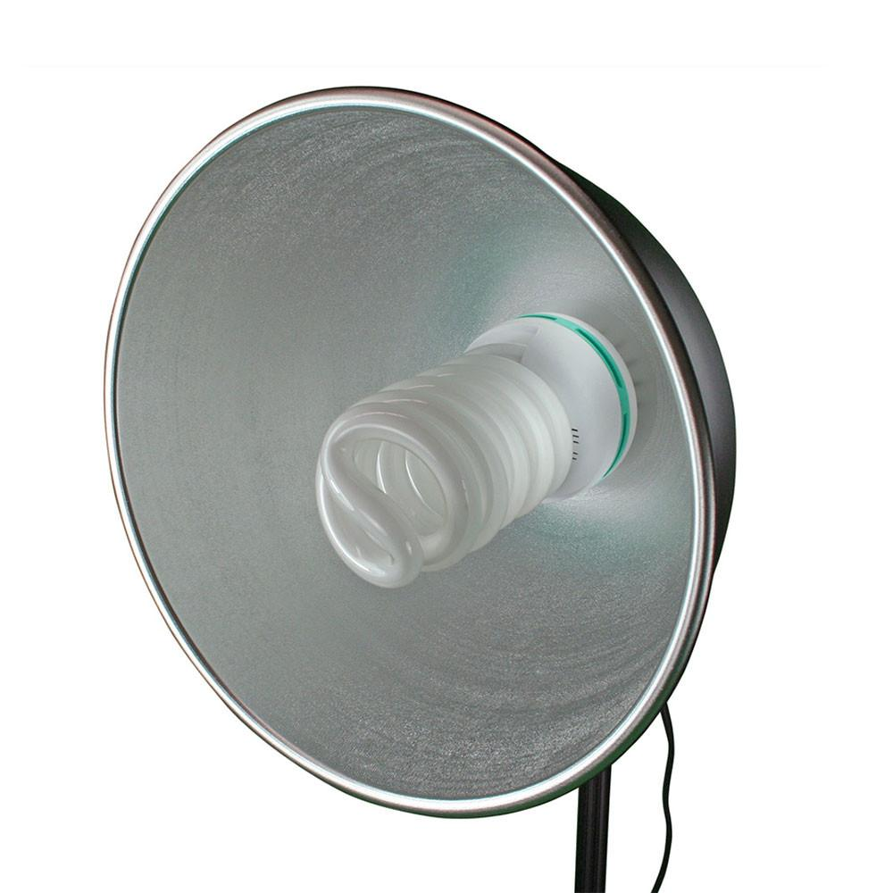 "Hypop 11"" / 28cm Reflective Metal Beauty Dish (E27 Base)"