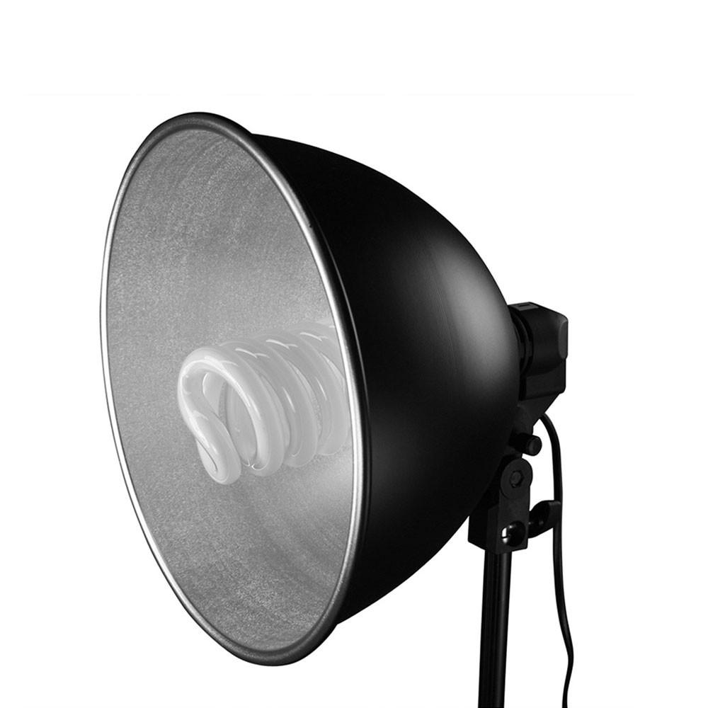 "Hypop 11"" / 28cm Reflective Metal Beauty Dish (E27 Base) exclude"