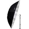 Hypop Professional Large Parabolic Black Silver Reflector Umbrella 140cm