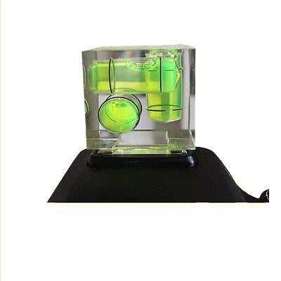 Hypop 3 Axis Triple Bubble Spirit Level on Camera Hot Shoe Gradienter For Canon Nikon