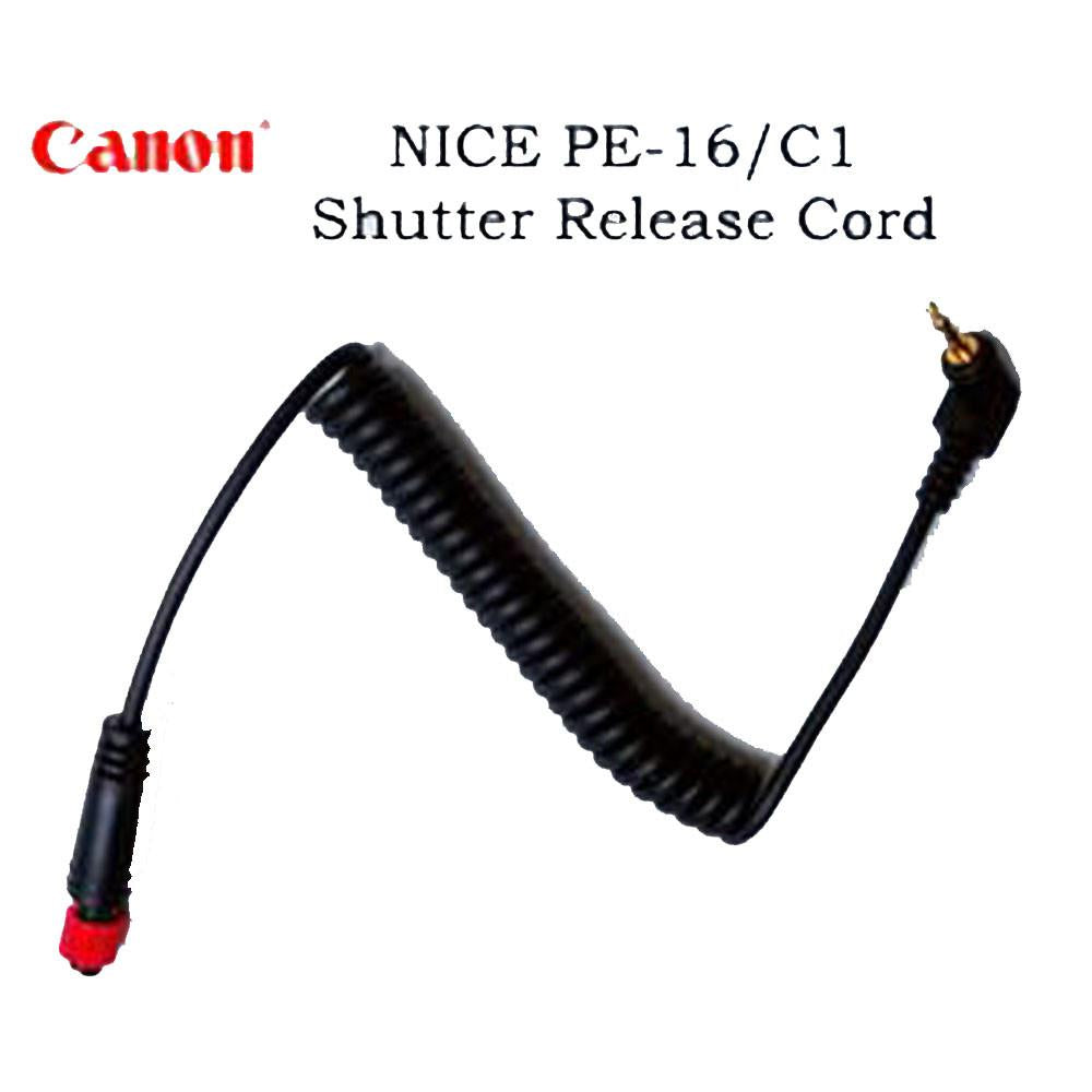 Hypop 3-in-1 Shutter Release Cable  NICE PE-16 C1