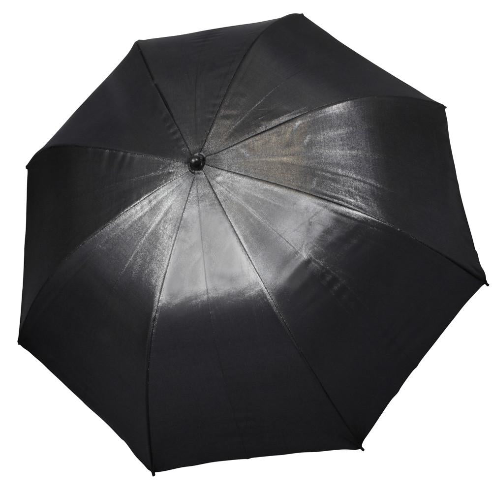"Hypop Large Black Gold Reflective Umbrella (40""/101cm)"