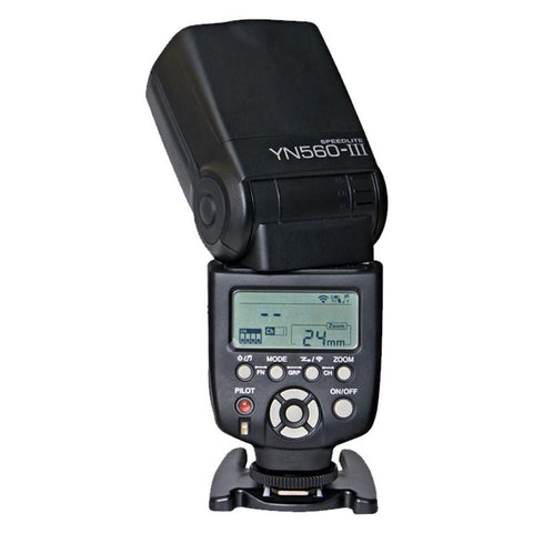 Yongnuo YN-560 III Flash Speedlite - Universal mount for Canon and Nikon