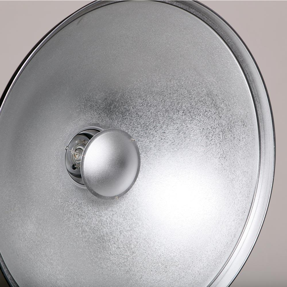 "Hypop 27.5""/70CM Universal Silver Reflector Beauty Dish with Diffuser (Bowens, Elinchrom, Profoto, Broncolor)"