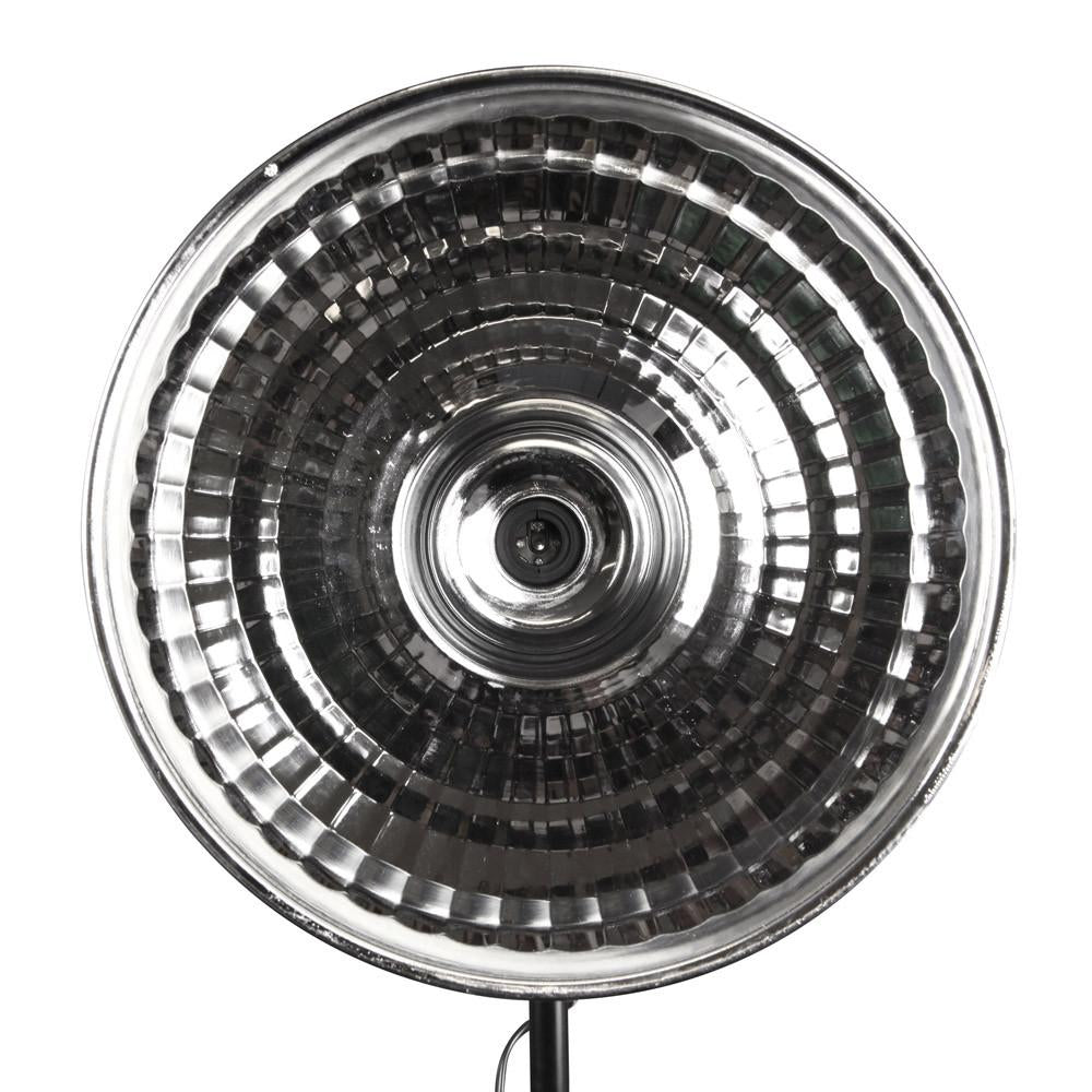 "Hypop 16"" / 41CM Silver Reflective Metal Beauty Dish with E27 Base"