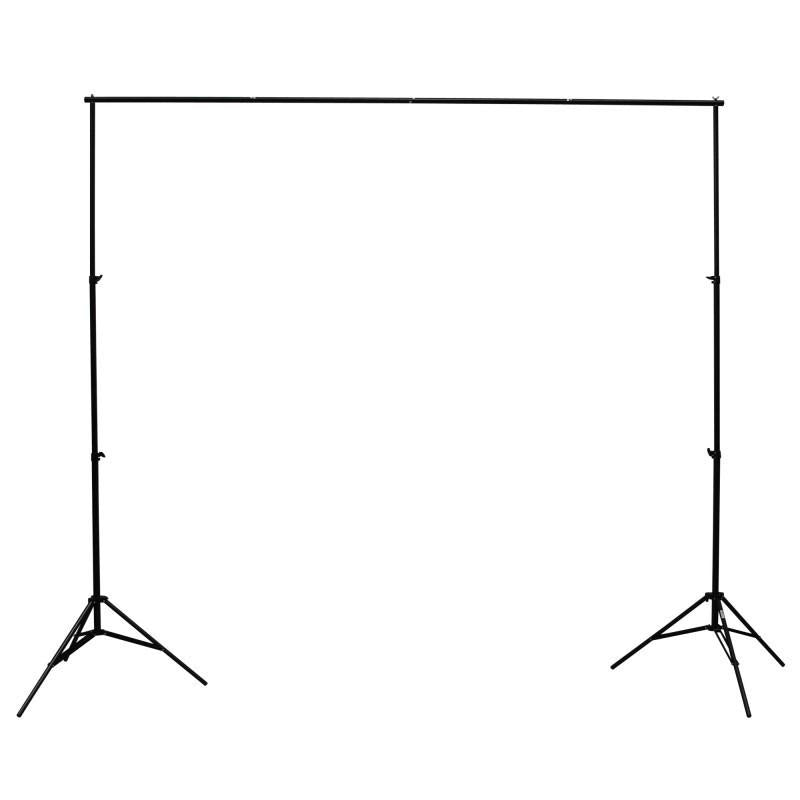 Cononmark 600W Flash Strobe Lighting (Bowens) & Backdrop Kit