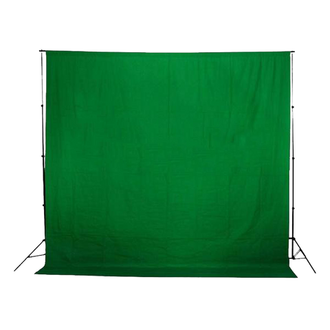 Green Screened Chroma Key Muslin Backdrop