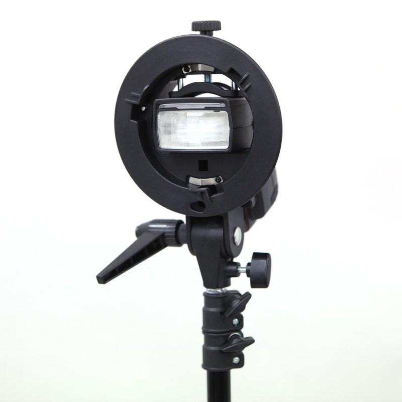 Godox S-Bracket with Bowens S Mount Holder for Flash Speedlites
