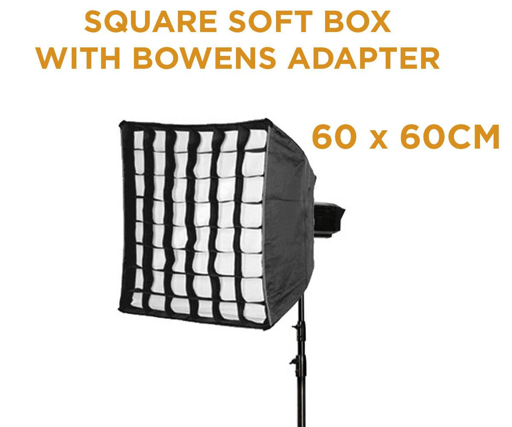 Hypop Square Soft Box With Grid (60cm x 60cm)