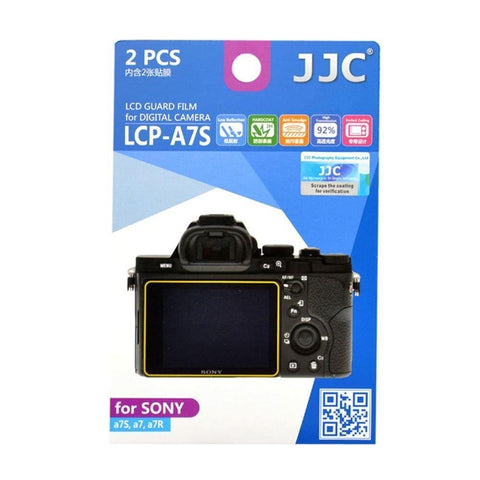 JJC LCP-A7S LCD Screen Film Protector for Sony A7S A7 A7R 2 Pack