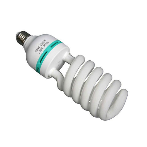 Hypop 55W 5500k E27 CFL Fluorescent Light Bulb