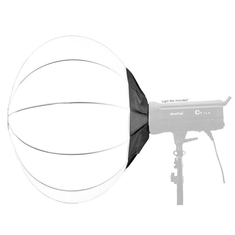 80cm NiceFoto Collapsible Softball Diffuser Softbox (Bowens Mount)