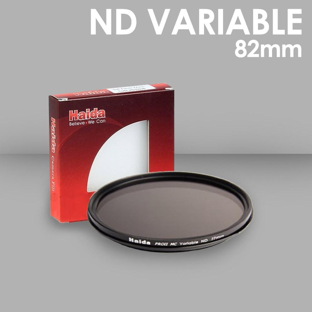 WI: 1 x Haida 82mm Variable ND Filter