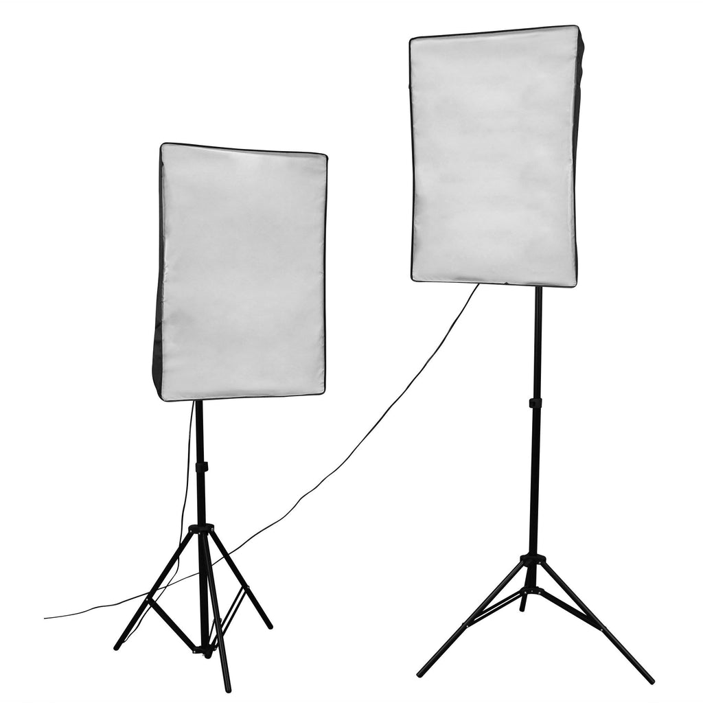 WI: 2 x Rectangle Softbox (50x70cm)