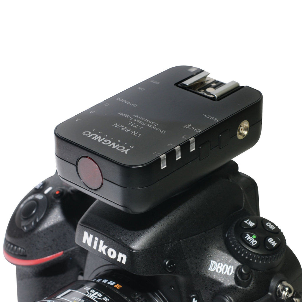 Yongnuo YN622N i-TTL Wireless Flash Trigger Transreceiver for Nikon (Pair)