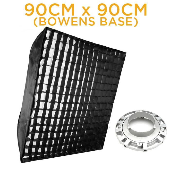 WI: 1 x 90cmx90cm Grid Soft Box