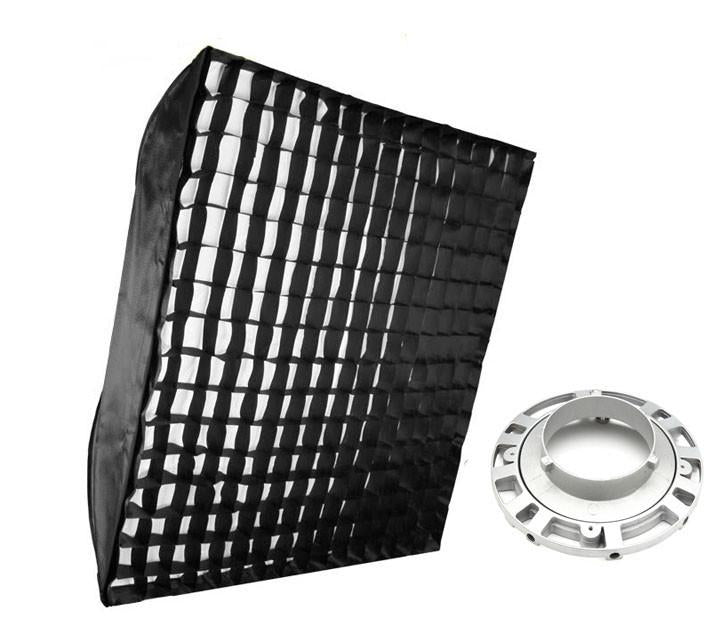 Hypop 90cm Square Bowens Soft Box With Honeycomb Grid