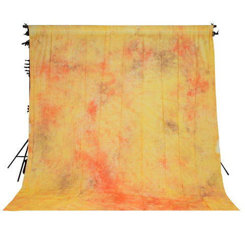 Spectrum Kaleidoscope Series Mottled Cotton Muslin Backdrop 3M x 6M - Tumeric Latte