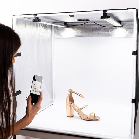'STUDIO PAL' Foldable Product Photography LED Lighting Box (In 3 Sizes)