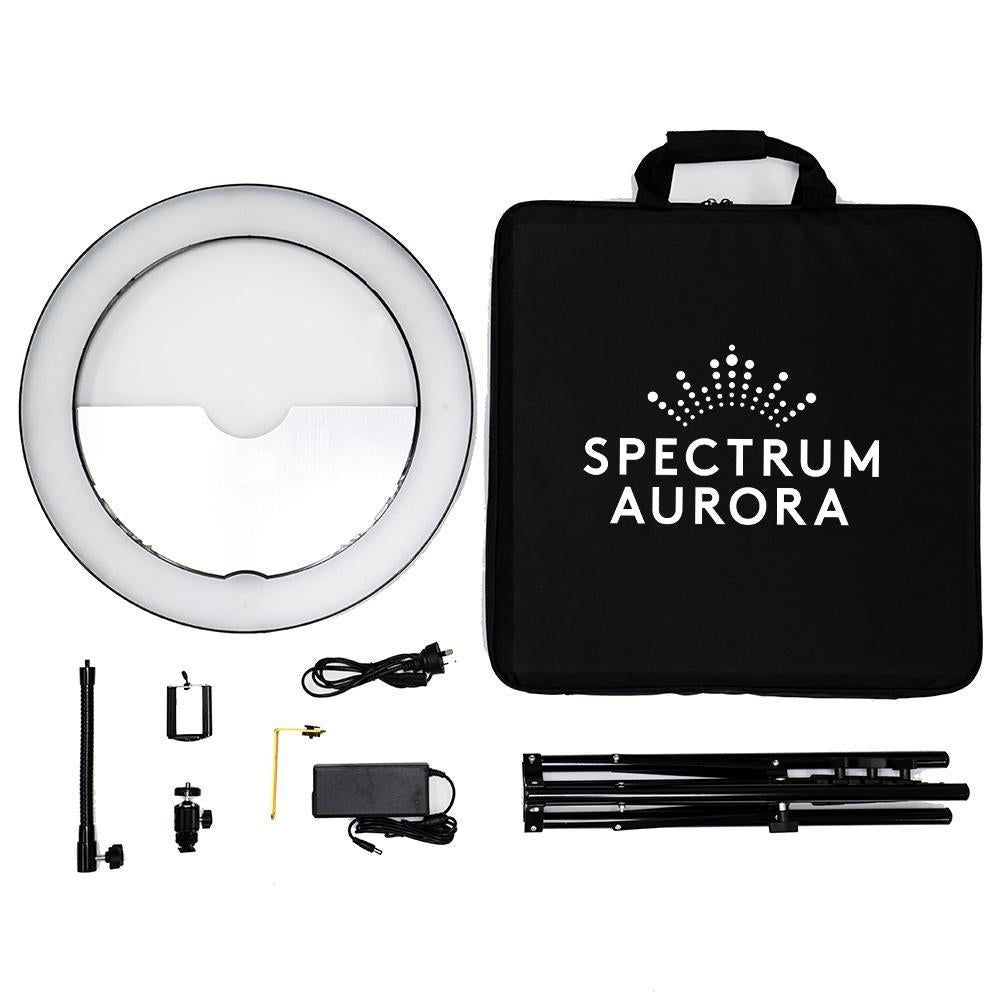 "19"" LED Ring Light Kit - Spectrum Aurora Gold Luxe II"