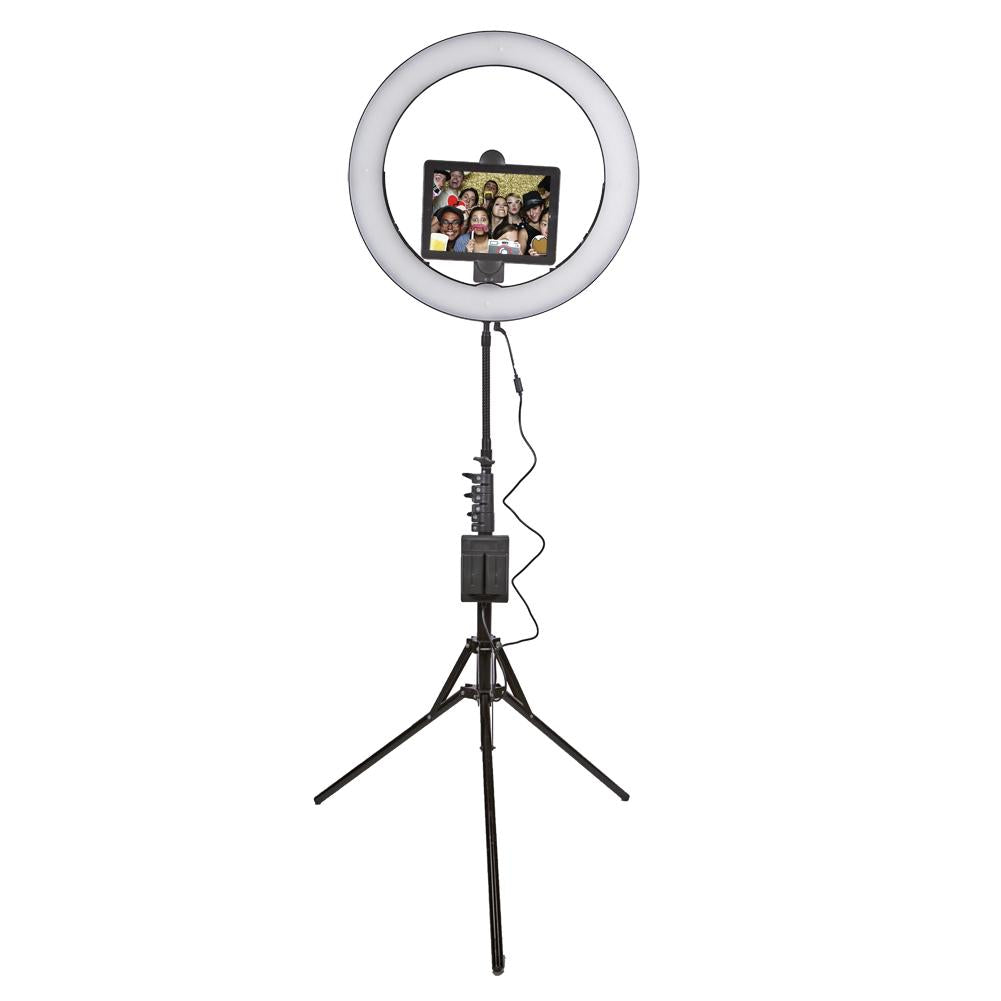 "Spectrum Portable ""Wedding and Events"" AURORA Gold Luxe II Ring Light Kit"