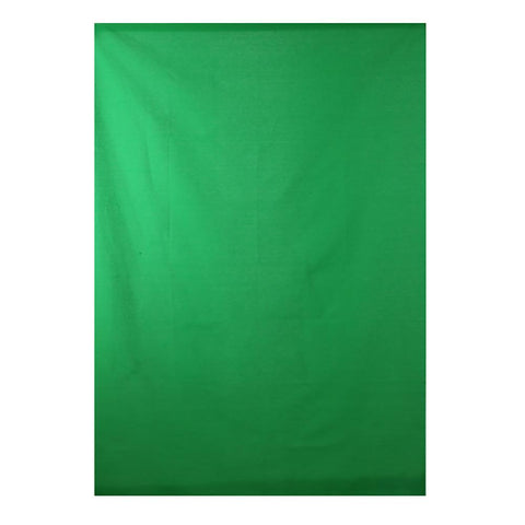 Spectrum 'TWITCH KIT' Chroma Key Green Screen Cotton Muslin 1m x 1.45m (Backdrop Only)