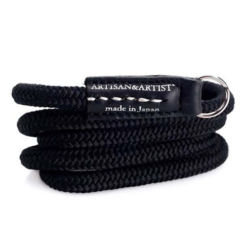 Artisan & Artist ACAM301B Woven Silk Camera Strap (Black) exclude