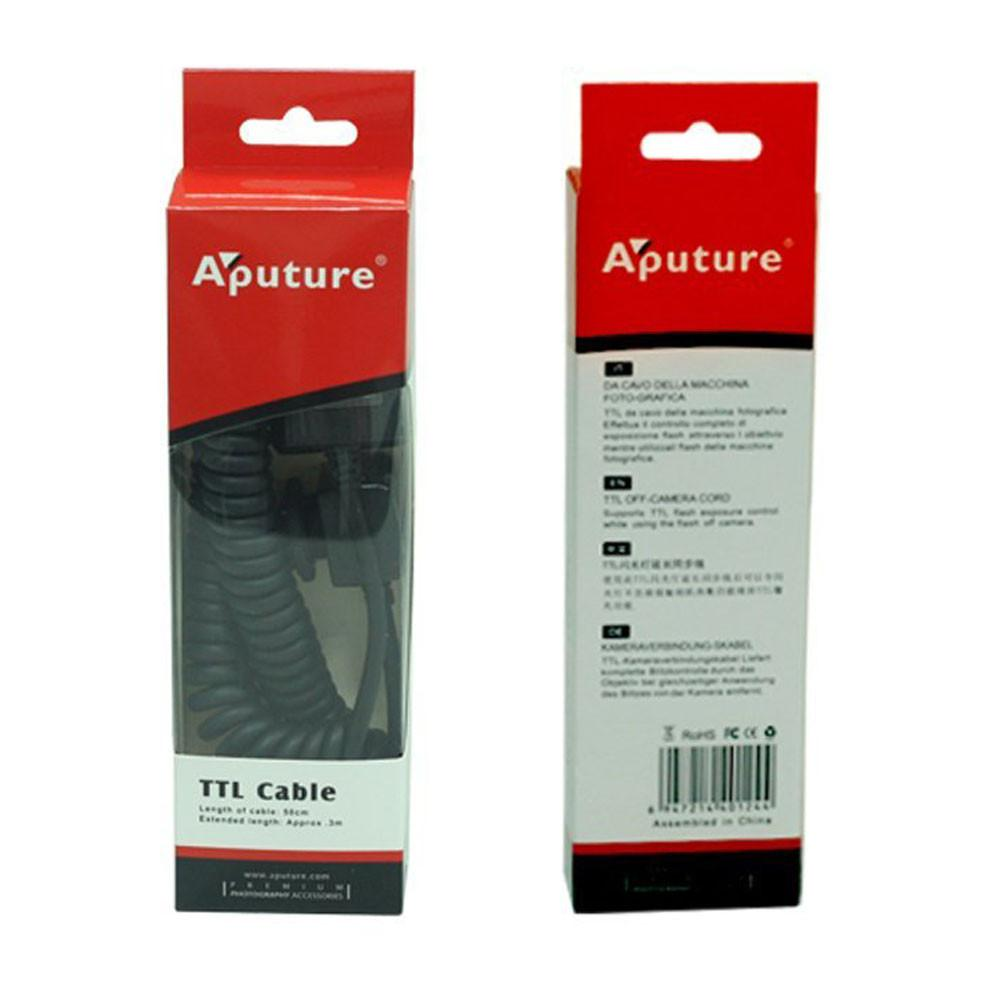 Aputure AP-TLC TTL Cable Off-Camera Sync Remote Flash Cord Cable Fit