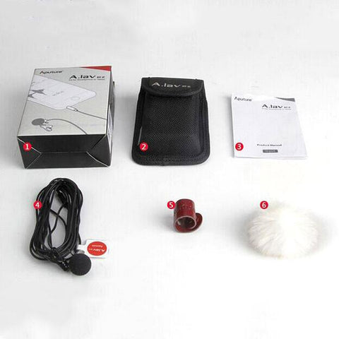 Aputure A.lav ez Lavalier Microphone for Mobile Smartphone