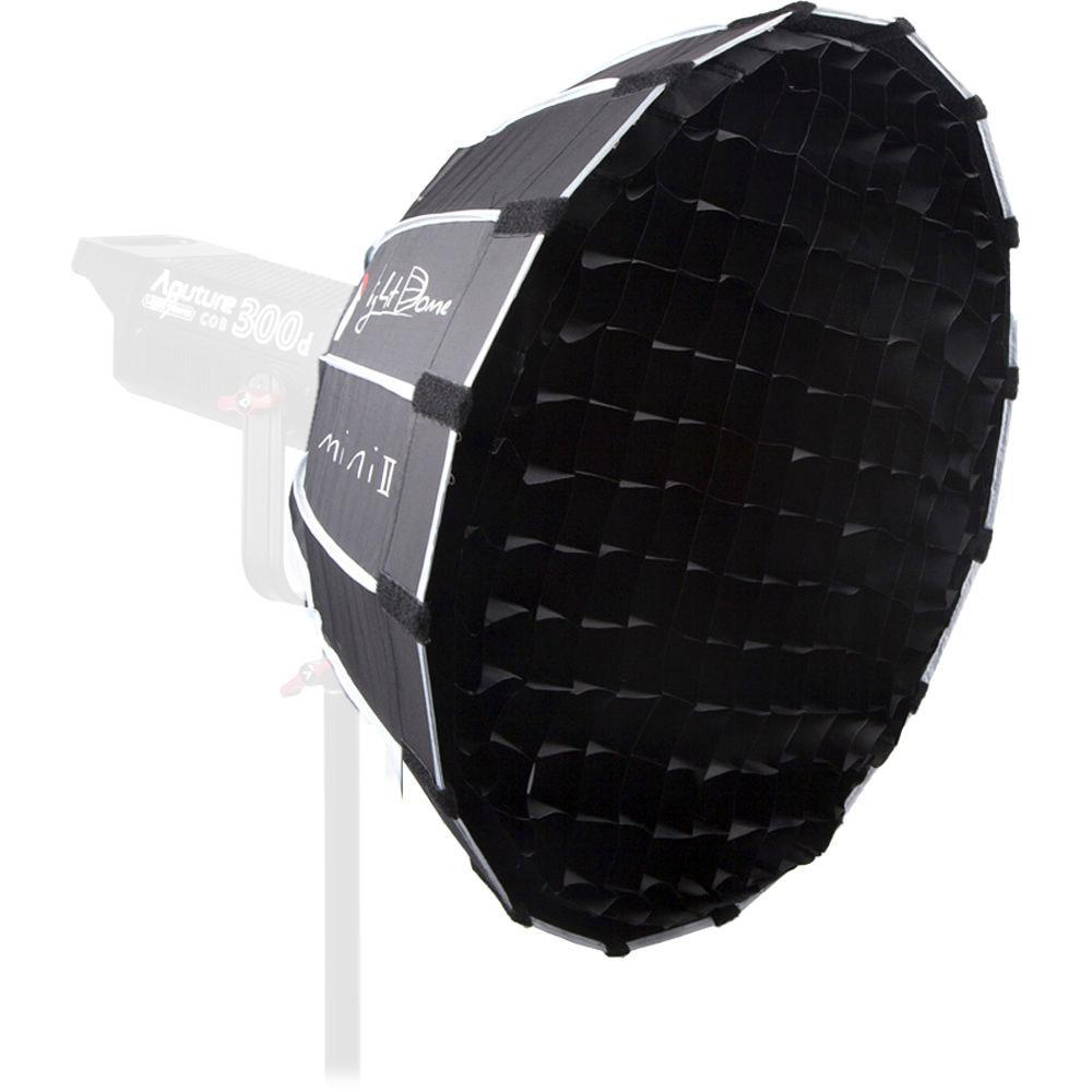 Aputure Light Dome Mini ii with studio fabric grid