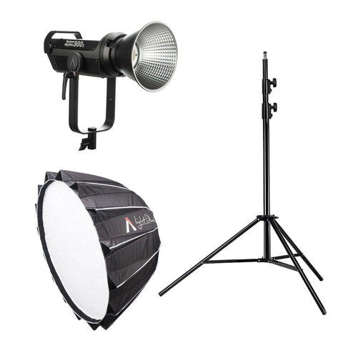 Aputure Light Storm 300X Pro Kit (Including Light Dome II Softbox and Light Stand)
