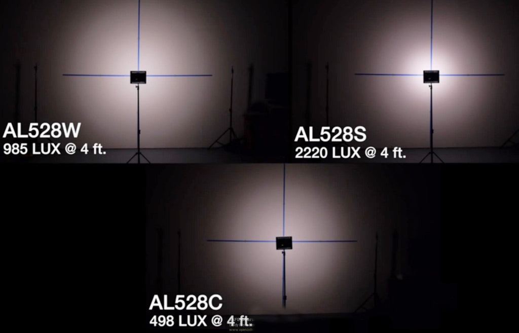 Aputure AL-528 (H528) LED Video Continuous Portable Light Panel & Stand