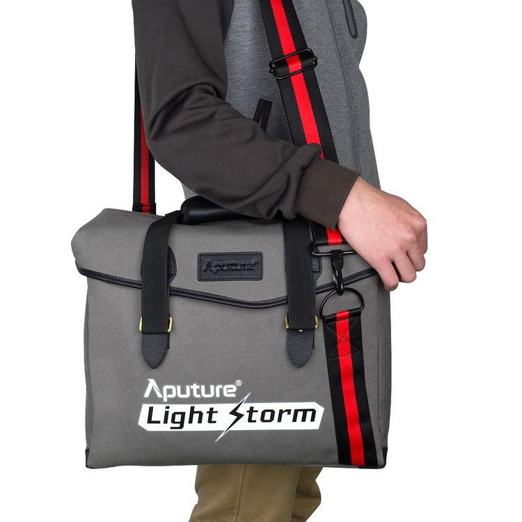 Aputure Light Storm Messenger Bag Grey