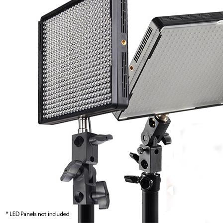 Aputure Mounting Bracket with 1/4'' to 3/8'' screw for AL-528 HR672 LED Panels