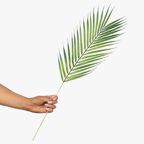 Artificial 64cm Palm Leaf Stem Photography Styling Prop