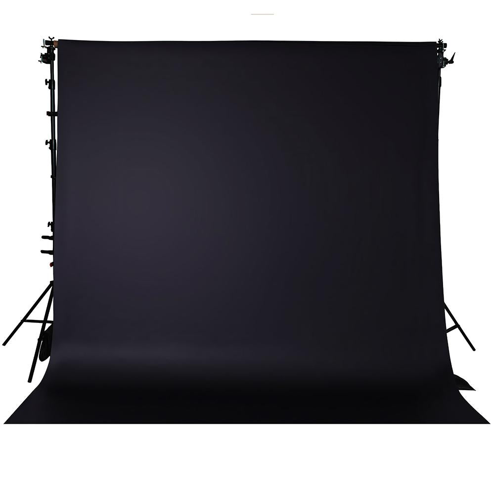 Spectrum Non-Reflective Paper Roll Backdrop (2.7 x 10M) - Badabing Black
