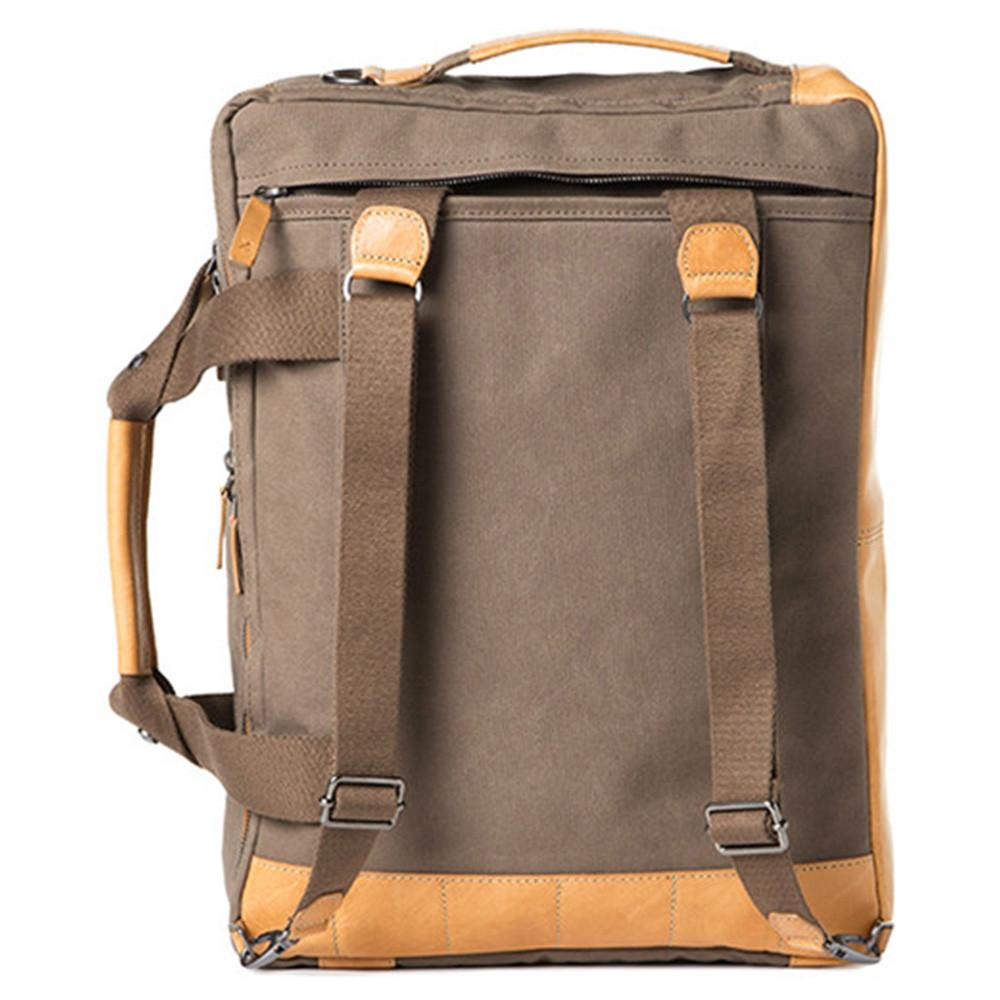 "Barber Shop ""Undercut"" Convertible Camera Bag (Canvas & Leather, Sand)"