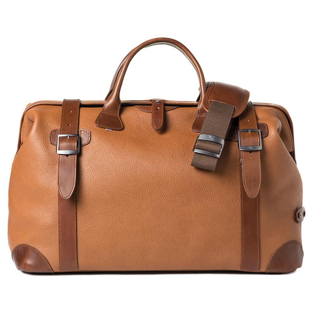 "Barber Shop ""Quiff"" Doctor Traveler Camera Bag (Grained Leather, Brown)"