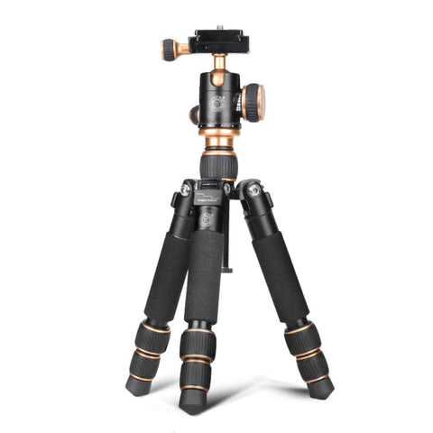 Beike Q166 Aluminium Mini Portable Tripod with Ball Head