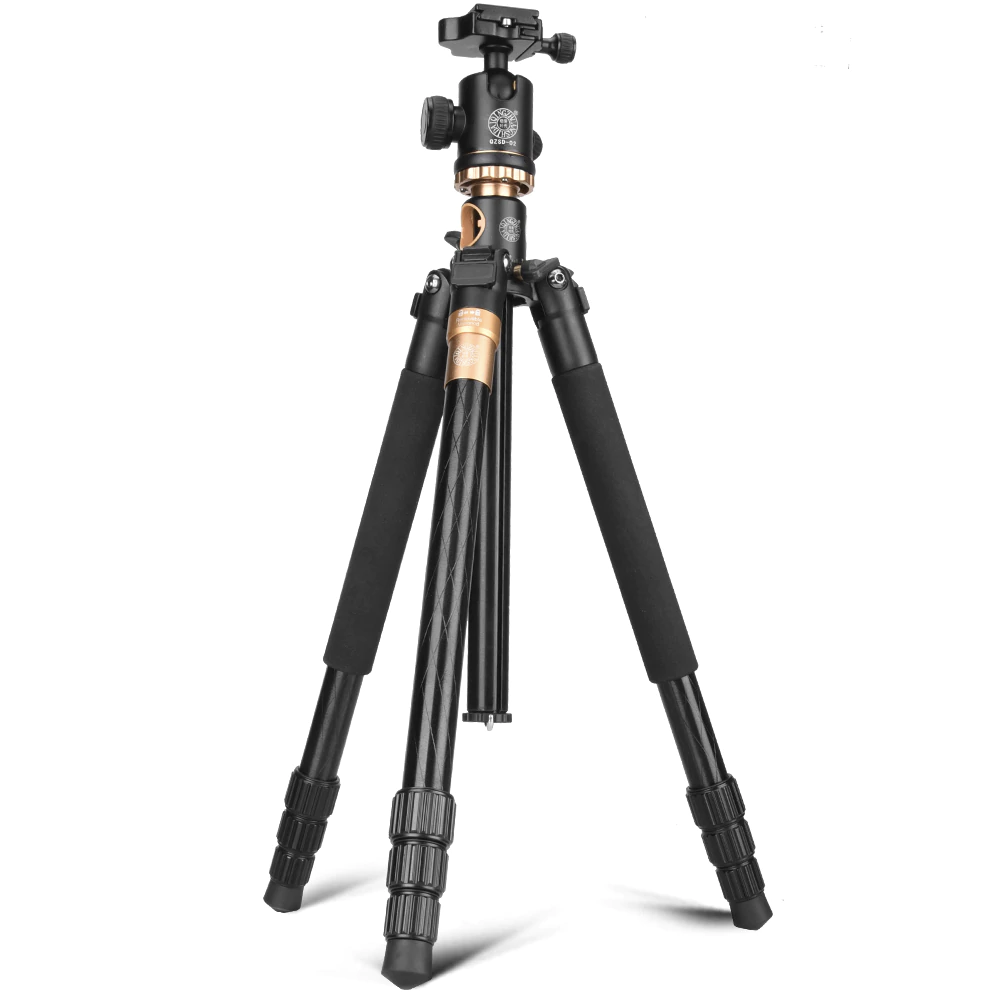 Beike Q999H Aluminium Convertible Tripod with Flat Lay Extension Arm